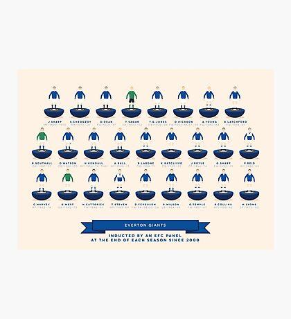 Everton Giants - 2015 Photographic Print