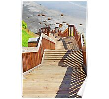Stairway to Heaven, Cardiff-by-the-Sea California Poster