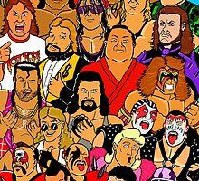 icons of wrestling by jamesedmarsh