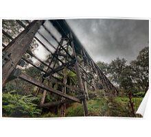 Ye Olde Trestle Bridge Poster