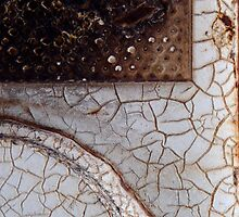 Crackled Abstract by Christopher Marshall