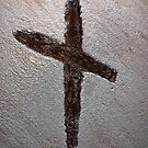Symbol Of Salvation - Wood Cross by Brian Walther