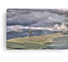 HDR Tornado GR4 Low level pass of CAD West Metal Print