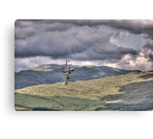 HDR Tornado GR4 Low level pass of CAD West Canvas Print