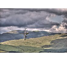 HDR Tornado GR4 Low level pass of CAD West Photographic Print