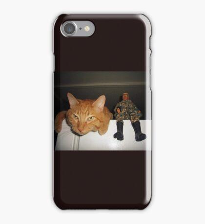 Frankie & Sgt. Major Joe iPhone Case/Skin