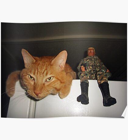 Frankie & Sgt. Major Joe Poster