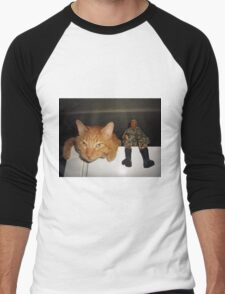 Frankie & Sgt. Major Joe Men's Baseball ¾ T-Shirt