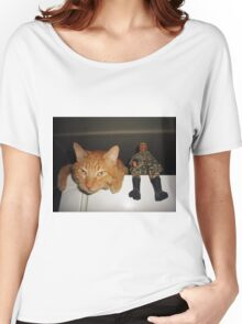 Frankie & Sgt. Major Joe Women's Relaxed Fit T-Shirt