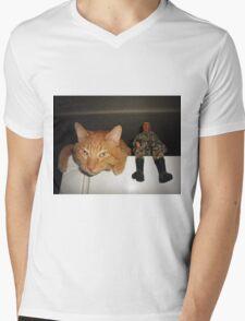 Frankie & Sgt. Major Joe Mens V-Neck T-Shirt