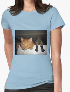 Frankie & Sgt. Major Joe Womens Fitted T-Shirt