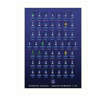 Everton's 50 Art Print