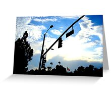 LA Street - CA Greeting Card