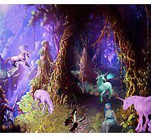 The magic unicorns Photographic Print