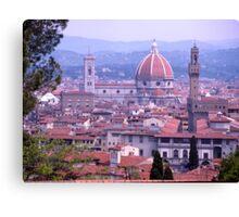 Skyline, Florence, Italy Canvas Print