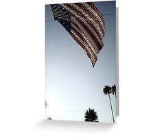 Stars and Stripes - Burbank, CA Greeting Card