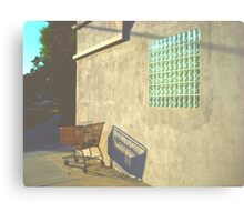 Shopping Cart - Burbank, CA Canvas Print