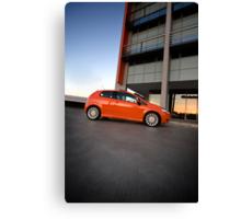 Fiat Punto Canvas Print