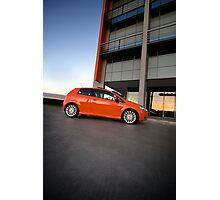 Fiat Punto Photographic Print