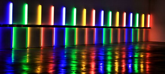 A lovely trail of lights by luckylarue