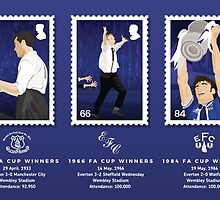 Everton FC - FA Cup Winners by davewilldesign