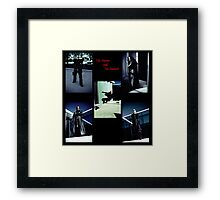 The Hunter and The Hunted Framed Print