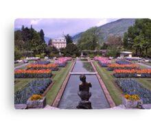 Villa Taranto, Pallanza, Lake Maggiore, Italy. Canvas Print