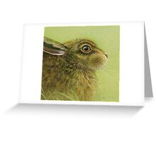 Portrait of a Rabbit Greeting Card