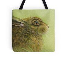 Portrait of a Rabbit Tote Bag