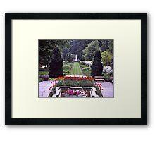 Villa Taranto #2, Pallanza, Lake Maggiore, Italy. Framed Print