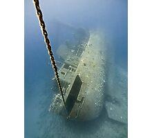 The wreck -Cedar Pride- Photographic Print