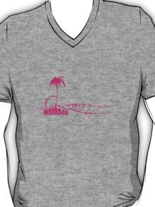 Mazooda_Island_Magenta T-Shirt