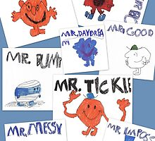 More of Jimmy's Mr Men by skooter65