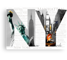 the best of New York Canvas Print