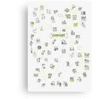 Concept Canvas Print