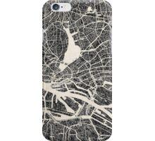 Hamburg map iPhone Case/Skin