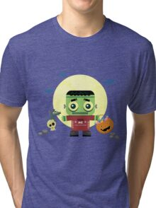 Frankie Goes to Halloween! Tri-blend T-Shirt