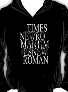 Times New T-Shirt
