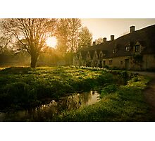 Arlington Row, The Cotswolds, England Photographic Print