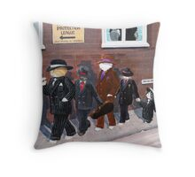 Cat's Protection League Throw Pillow