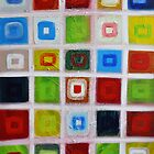 Cubes - Oil on canvas by Nasko .