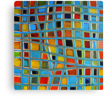 Abstract Cubes Canvas Print