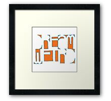 Dream Weird Framed Print