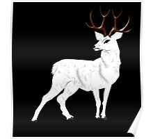 The White Hart Deer Poster