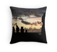 the last sun of 2010 - the guardians  Throw Pillow