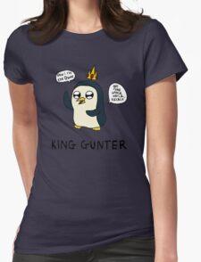 King Gunter (Adventure Time/Kendrick Lamar Mash Up) Womens Fitted T-Shirt