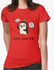 King Gunter (Adventure Time/Kendrick Lamar Mash Up) Womens Fitted T-Shirt