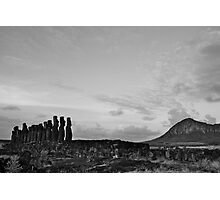 once upon a time in Easter Island Photographic Print