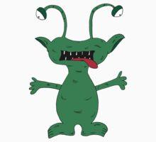 Cuddle Monster Doodle Kids Tee