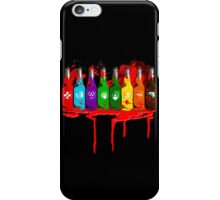 Perks all lined up and bloody iPhone Case/Skin